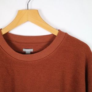 Aerie cozy oversized burnt orange sweater